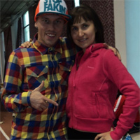 Саша Ошкин и Мария Габитова